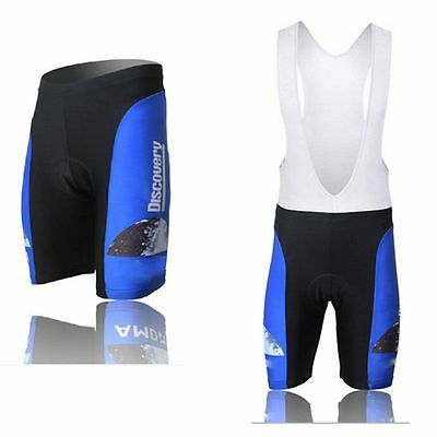 Discovery Men's Padded Cycling Shorts/Bib Shorts Mountain Bike Shorts Bibs Blue