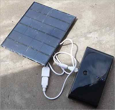 6 Volt 3.5W Outdoor Solar Panel 580mA Smart Power Supply Phone Battery Charger
