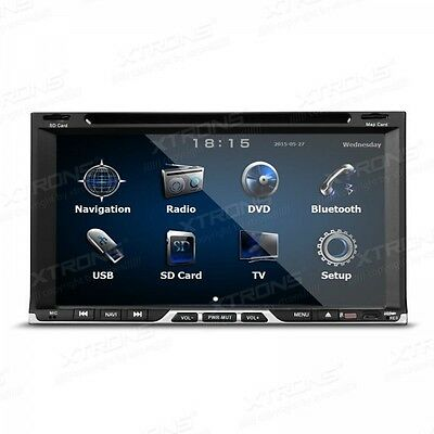 "Radio Dvd Gps 2Din Coche Lcd Tactil 7"" Bluetooth,mp3.funcion Espejo Del Movil"