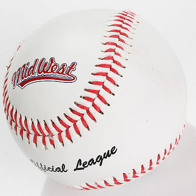 """New Midwest Official League Baseball 9"""" League Ball Official Size & Weight UK"""