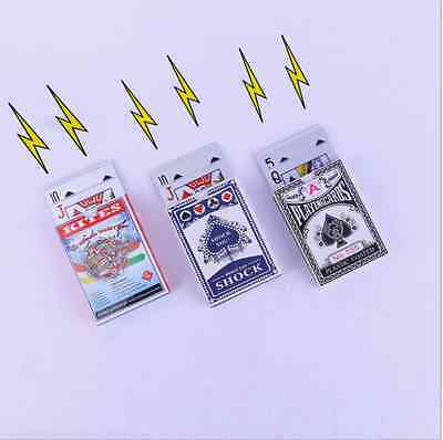 Electric Shock card  Toy Utility Solitaire Joke Funny Prank Trick Novelty Gift