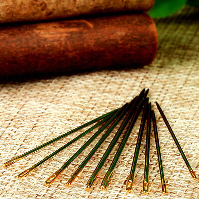 10Pc* Leather Canvas Sewing Stitching Needles Leathercraft Handmade Repair Tools