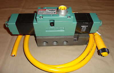 Numatics A13Ss53As013R30 Pneumatic Double Solenoid Valve A12Ss500S013R30 New