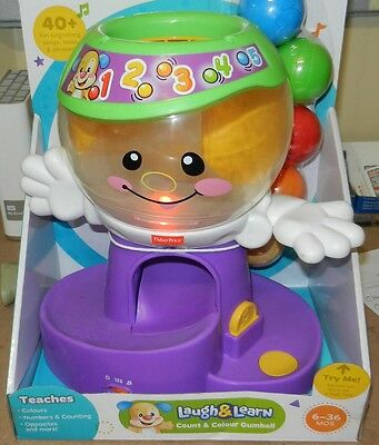 Fisher-Price Laugh & Learn Count and Color Gumball with Fun Sing along songs