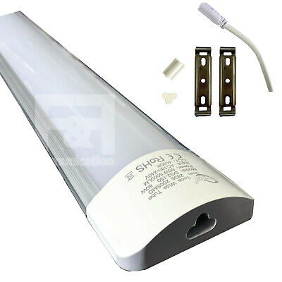 Neon Barra Led Applique Soffitto Plafoniera Smd 36W 120 Cm Calda Fredda Naturale
