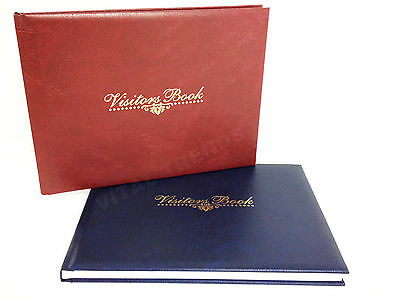 Visitor Book for Hotels, B & B, Restaurant, Business Guest Houses High Quality