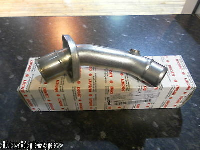 Ducati Hypermotard 1100 08/09 Vertical Head Exhaust Pipe 57112582A
