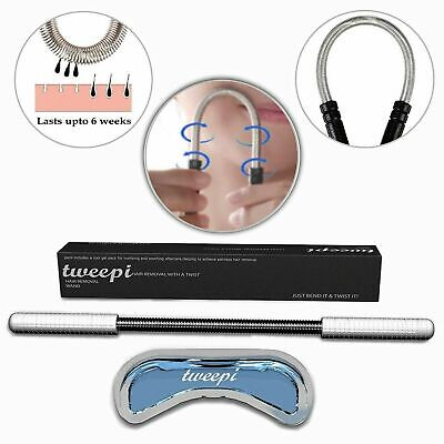 Tweepi Hair Removal Wand & Lip Shaped Cool Gel No Cream Remove Quickly Hairless