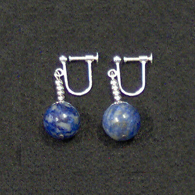 Clip On - Blue Potara Fusion Earrings Dragon Ball Z DragonballZ Earings