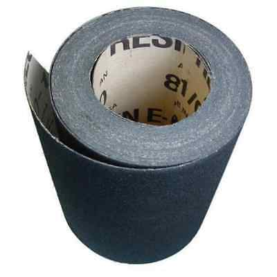 "Floor Drum Sanding Sandpaper Roll - 8"" X 50 Yards - 80 Grit - Bulk - Alum Oxide"