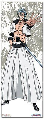 Great Eastern Entertainment Bleach Grimmjow Oversized Wall Scroll, 33 by 44-Inch
