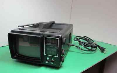 TMK Model 705 Portable TV~AM-FM Radio 1982 Power Cord and/or Batteries Works