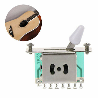 3-Way Pickup Selector Switches Toggle Leaver Switch For Tele Strat Guitar