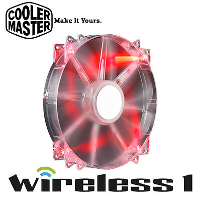 Buy Now Cooler Master MegaFlow 200mm Red LED Silent Fan