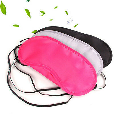 1PC Travel Sleep Rest Sleeping Aid Mask Eye Shade Cover Comfort Care Blindfold