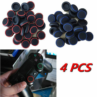4Pcs Cap Cover for PS4 XBOX Analog 360 Controller Thumb Stick Grip Thumbstick