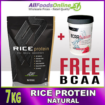 Rice Protein Concentrate - Dairy Free - Rice Protein - Natural - 7kg