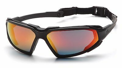Pyramex Highlander Safety Glasses Protective Eyewear, Goggles, 4 Colours