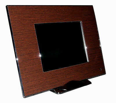 "Cornice Digitale Multimdiale Hd 8"" Lcd Tft - Dikom Dpf Luxury Dark Wood"