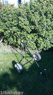 Titleist Ace Lightweight 2 Wheel Golf Trolley Manual Push/Pull Collapse/Foldable