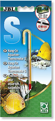 JBL Hang On Aquarium Thermometer S Small for 6mm Glass Thickness 11.5 cm
