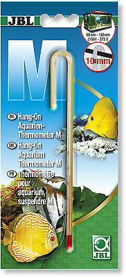 JBL Hang On Aquarium Thermometer M Medium for 10mm Glass Thickness 16.5 cm