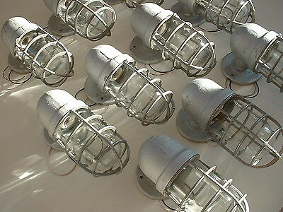 NOS Crouse-Hinds 100 watt Explosion Vintage Industrial Wall Sconce Porch Light
