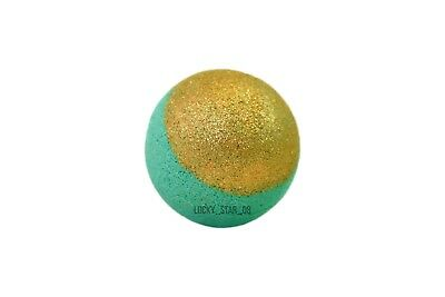 Bath bomb Fizzy Cashmere glow 2.5 oz. GREAT FOR DRY AND SENSITIVE SKIN Fun Bath