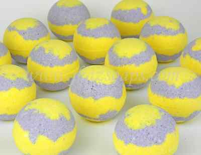 Bath Bomb Fizzies Pack of 14 (2.5 oz) Fizzy LOT Lemon lavender Scent Lush Like