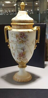 Royal Bonn 2 handle large urn antique 16 inches tall
