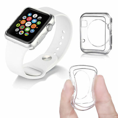 Apple Watch 42mm Thin TPU Transparent Cover (Clear) SHIPS FROM CANADA!