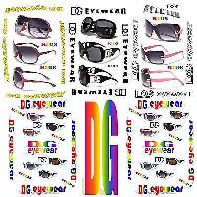 High end girls (kids) fashion, sport, casual, fancy style DG shade for celebrity