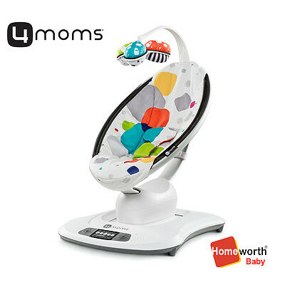 NEW 4MOMS MAMAROO MULTI COLOUR PLUSH bouncer  baby cradle bouncing bounce rocker