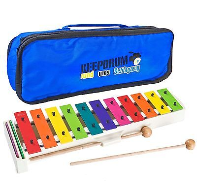 Sonor BWG Boomwhackers Carillon + Keepdrum MB01 Pocket Bag