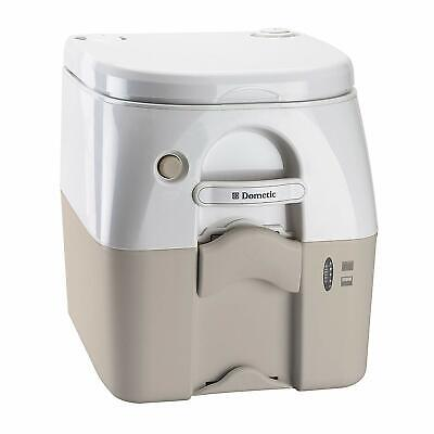 Dometic SeaLand 975 Portable Toilet 5 Gallon Porta Potti Tan with Brackets