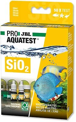 JBL SiO2 Silicate Test Set Kit Algae & Diatom Control Fresh Water & Marine Tank