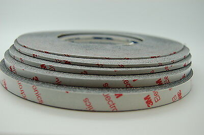 Brandnew 3M 9448Hkb Strong Double Sided Tape, 1~10Mm*50M, Fits Iphone, Samsung