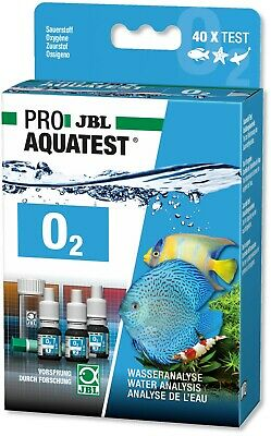 JBL O2 Oxygen Level Test Set Kit for Fresh Water and Marine Aquarium Tanks