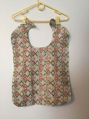 XL Adult  clothing bib protector,  Free s/h