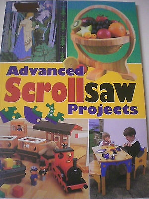 ADVANCED SCROLLSAW PROJECTS Woodwork Crafts s/c book