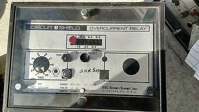Brown Boveri (ABB) Circuit Shield Overcurrent Relay, Type 51Y, Category 223S2440