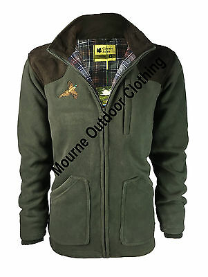 New Mens Thornton Country Estate Hunting Shooting Fleece Jacket + Pheasant Logo