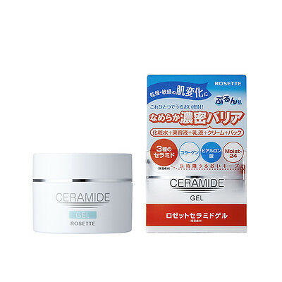 From JAPAN Rosette Ceramide Gel collagen hyaluronic acid 80g / Free shipping!!