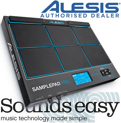 Alesis SamplePad Pro - 8 Pad Percussion and Sample Triggering Instrument + MIDI