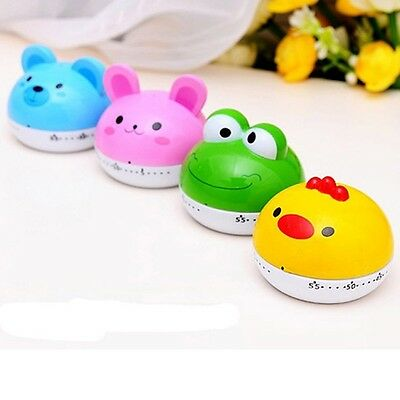 Cute Cartoon Creative Countdown Lovely Cartoon Animal Mechanical Kitchen Timer