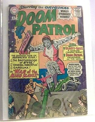 Vintage Doom Patrol #97 Dc Comics Lower Grade 1St Appearance The Mind Slaves
