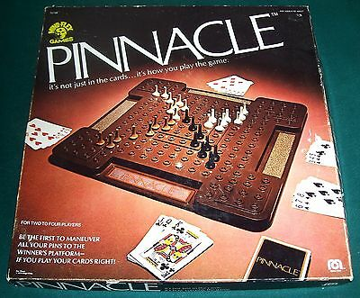 1979 PINNACLE Rummy Card Game - Sealed Cards - Complete - Mego - Mind-Flex