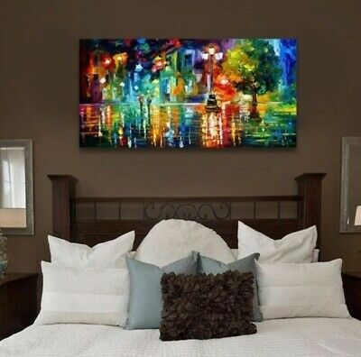 Modern Abstract hand-painted Art Oil Painting Wall Decor on canvas (no framed)