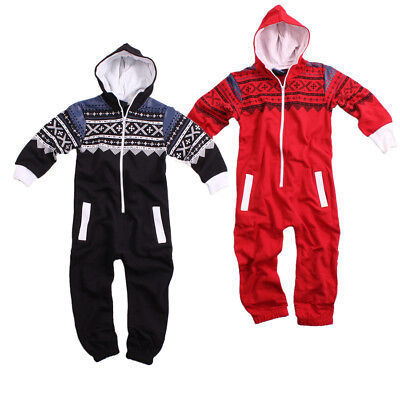Fury Collection Kinder Jumpsuit Overall Jogger Anzug Onesie Azteken