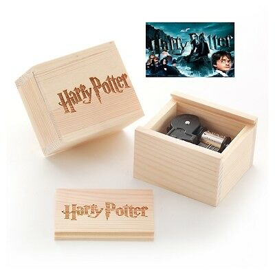 Wooden Slide Top Boxes Handcraft { HARRY POTTER } Music box